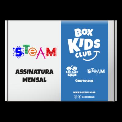 Box Kids STEAM Club Clube de Assinatura