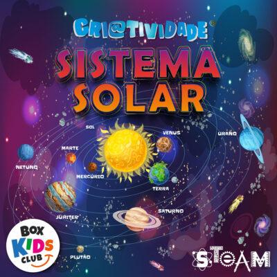 Box Kids Club Clube de Assinatura de Criatividade Sistema Solar