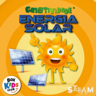 Box Kids Club Clube de Assinatura de Criatividade Energia Solar