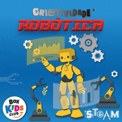 Box Kids Club Clube de Assinatura de Criatividade Robótica